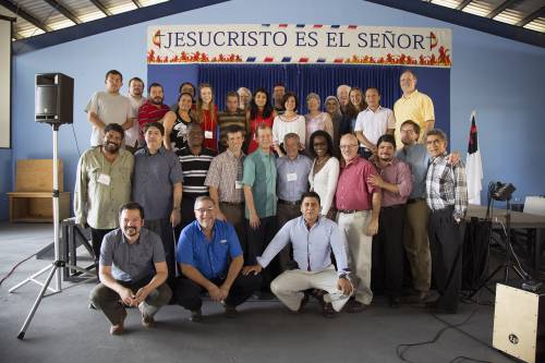 Consulation 2016 group: Researchers and practitioners from nine countries gathered in San Jose, Costa Rica, in January to study religious change in the region