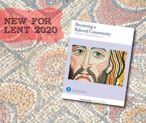 Lenten devotional cover