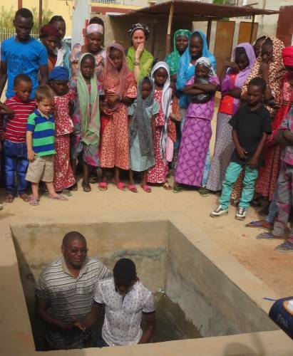The EERN adds to its numbers as young Christians are baptized at a service this Easter
