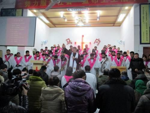 Preaching at Bin Hai