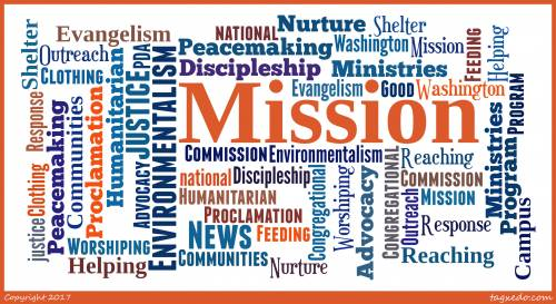 Mission Engagement Word Cloud