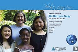 Dr. Barbara Nagy Prayer Card