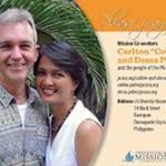 Cobbie and Dessa Palm Prayer Card