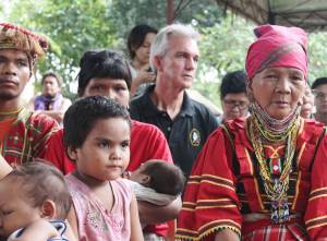 Sitting among the Lumad evacuees and listening to the leaders