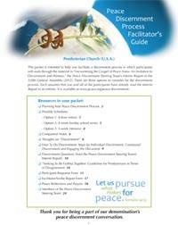 The Peace Discernment Process Facilitator's Guide