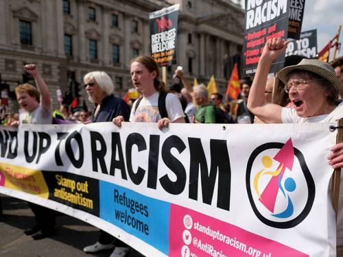Stand up against racism