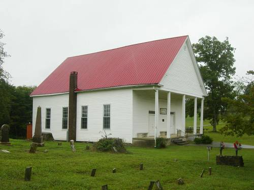 A small rural church