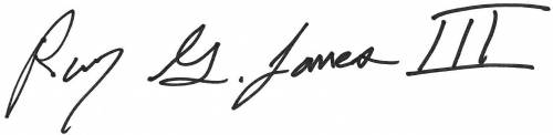 Ray Jones signature