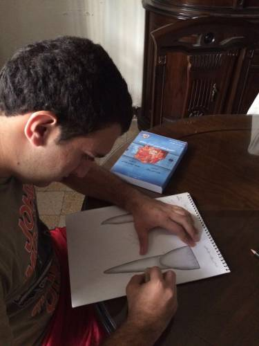 Sarkis drawing