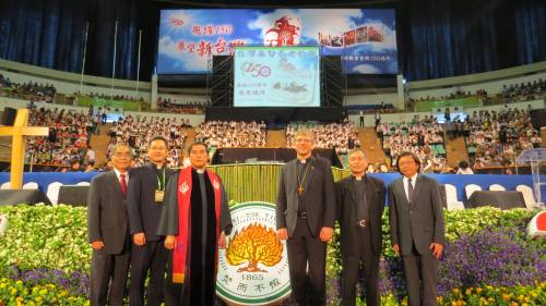 Presbyterian Church of Taiwan celebrates 150 years with a gathering of 15,000 members