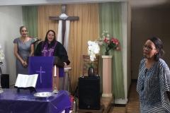 Female leadership at Mision Presbyterian Rio Grande