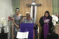 Female leaders at Mision Presbyterian Rio Grande