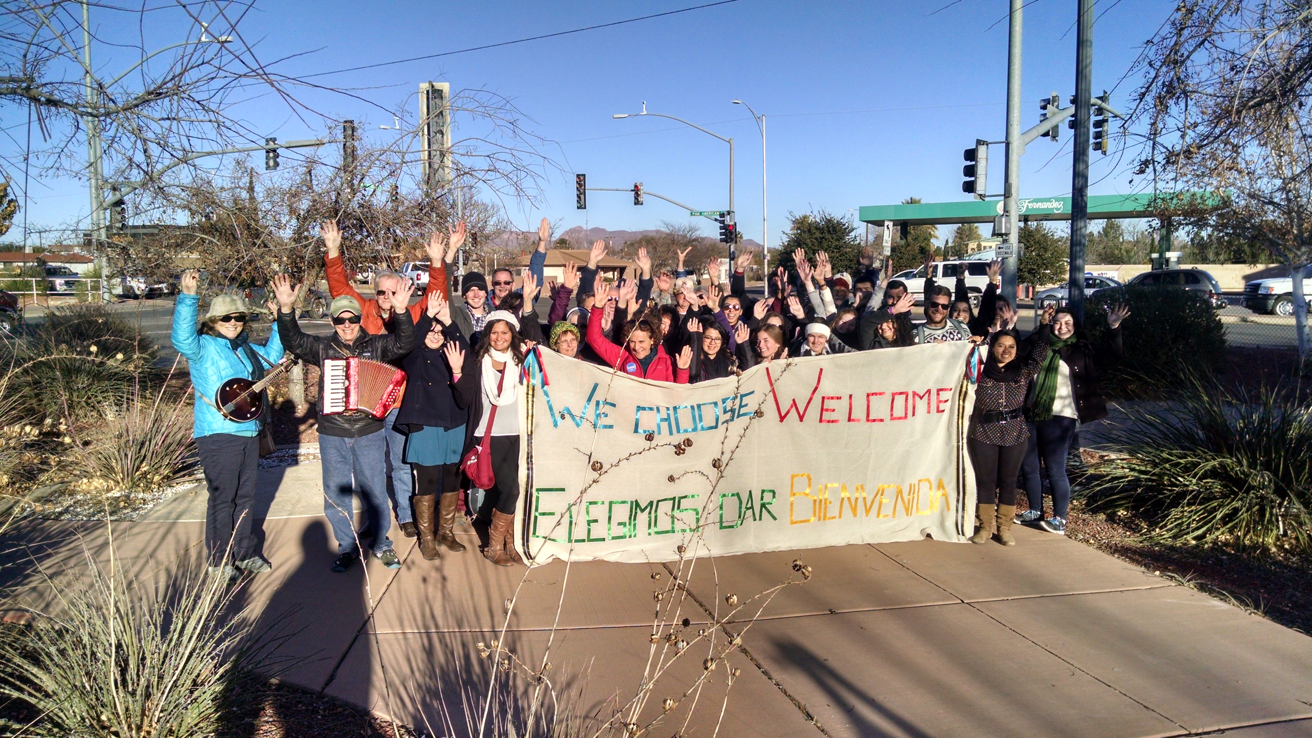 We Choose Welcome: Our community wants the border as a place of welcome and encounter, not a place of fear and division