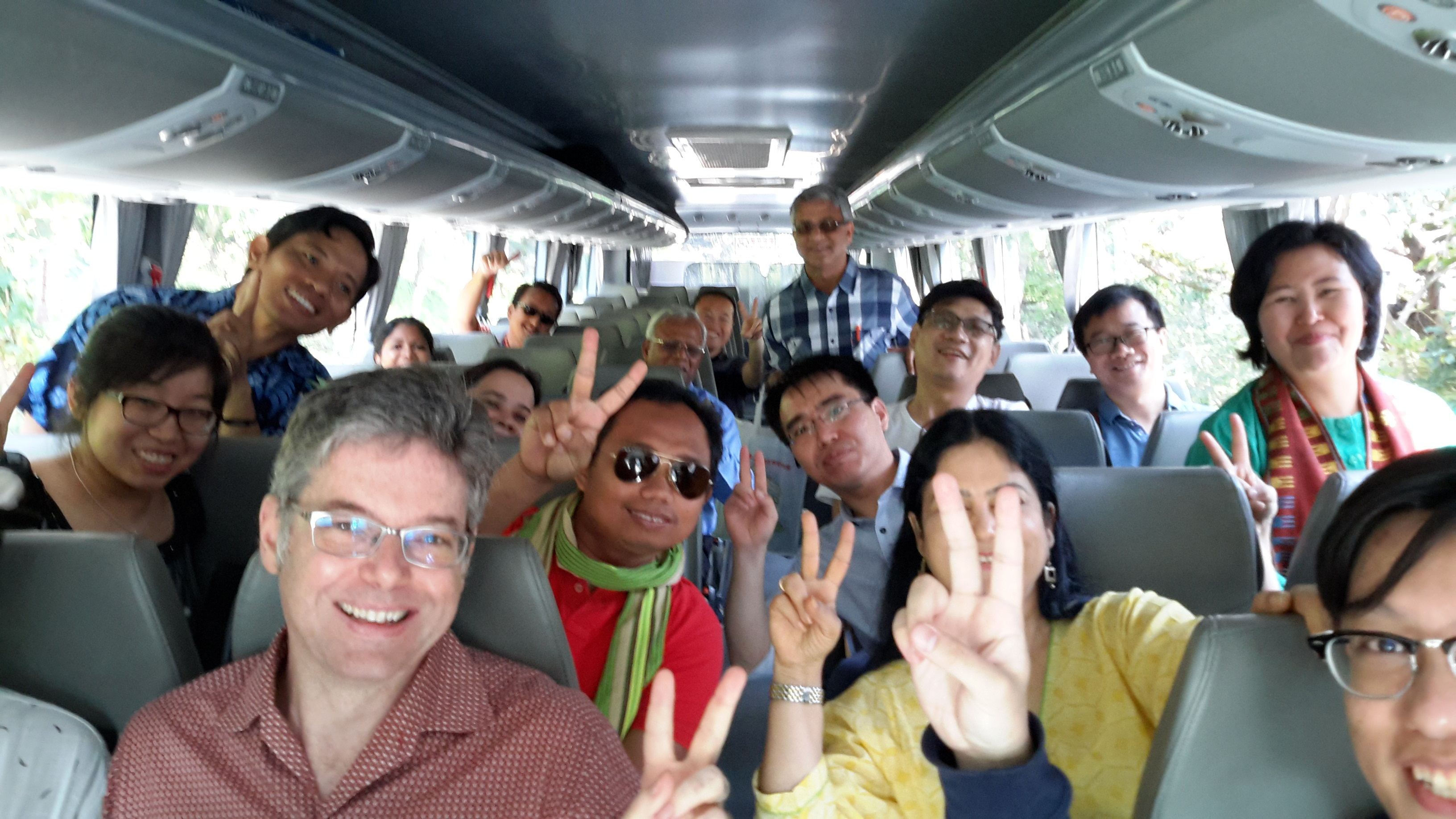 Young scholars heading out to visit religious sites in Hong Kong