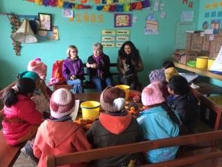 Intensive English classes for children.