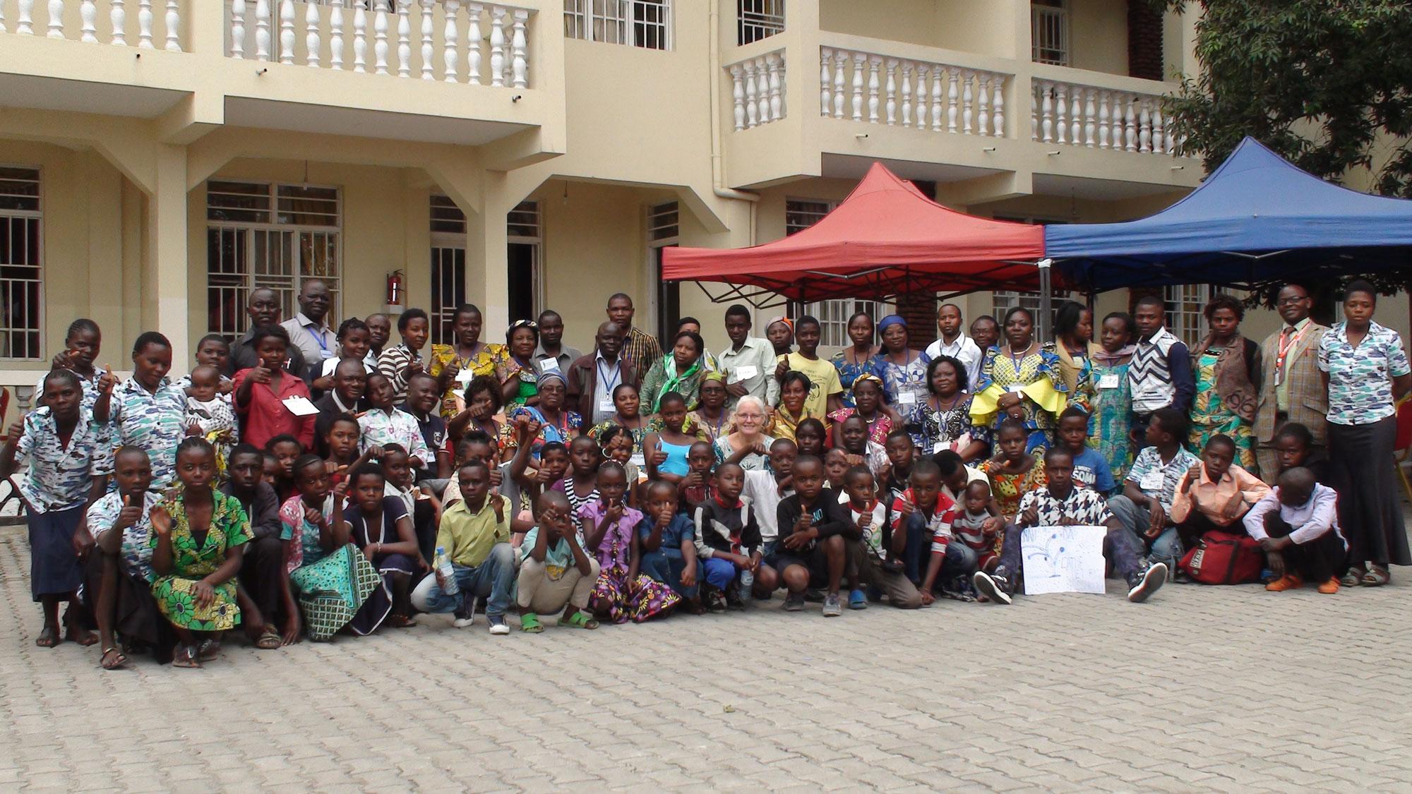 All children, trainee Facilitators, and Master Facilitators