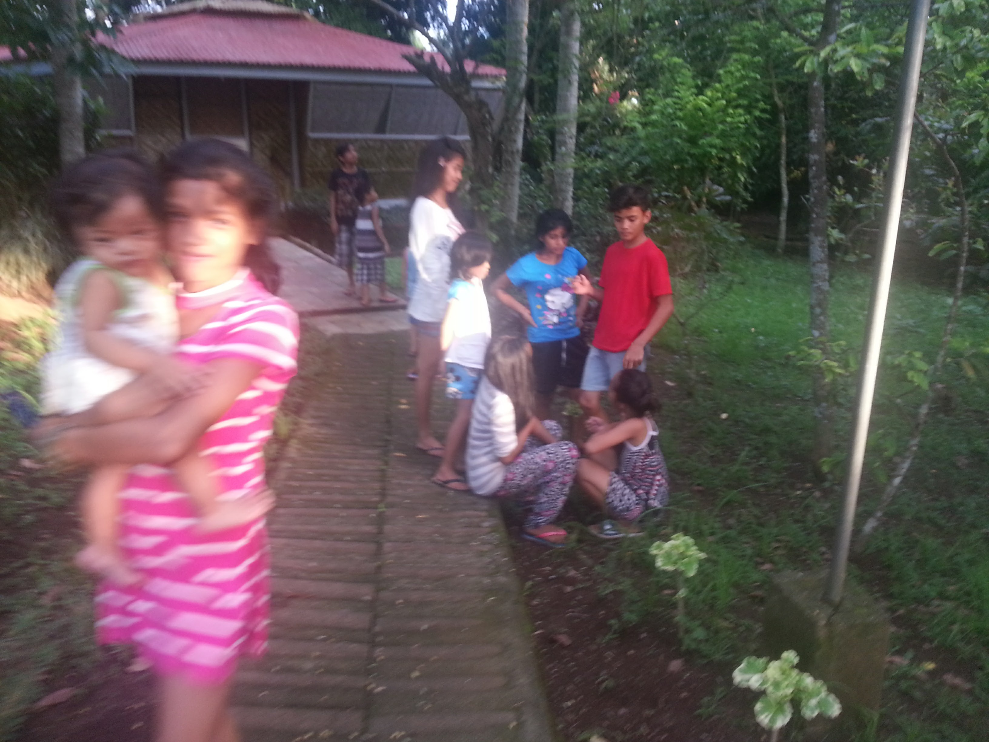 Children bonding at Kaisummer Camp.
