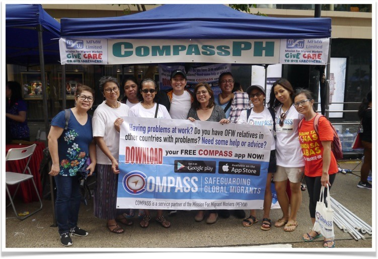 Launching of Compass PH app in Hong Kong, in partnership with UNIFIL-Hong Kong.