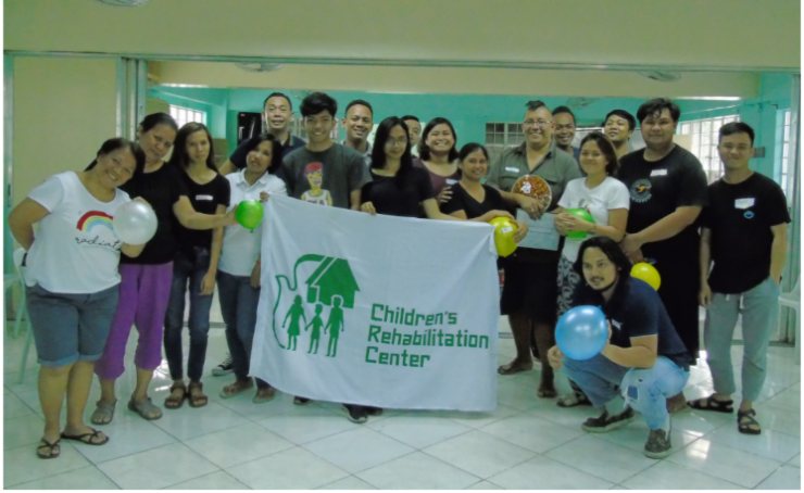 In collaboration with multiple children's organizations, Juan facilitated training for overstressed workers who serve children.