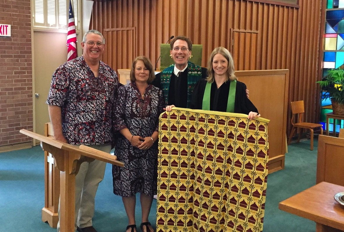 We visited old friends, like the Reverends Eric and Emily Larsen, co-pastors at St. Andrews Presbyterian Church, in Winston-Salem, N.C.