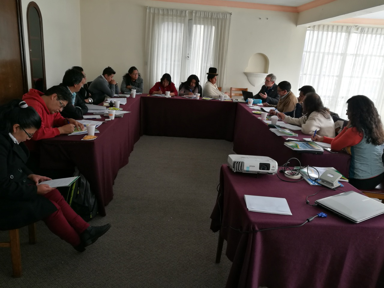 UMAVIDA General Assembly, La Paz, Bolivia.