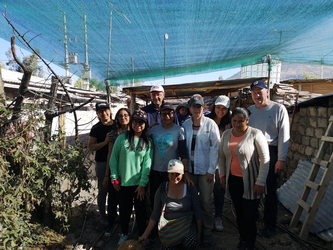 Sharon PC delegation with community women. Yanama, Peru. (Photo: Jose Luis Claure)