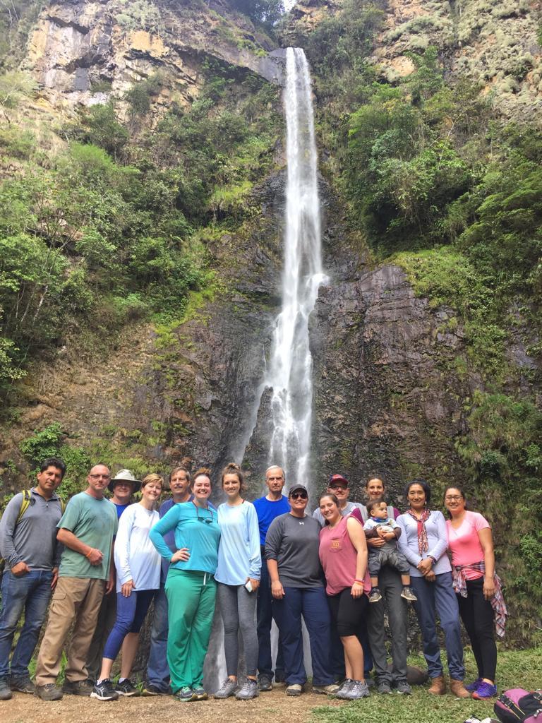 FPC Jackson delegation enjoying God's Creation. San Martín, Peru. (Photo: Manuel Ferro)