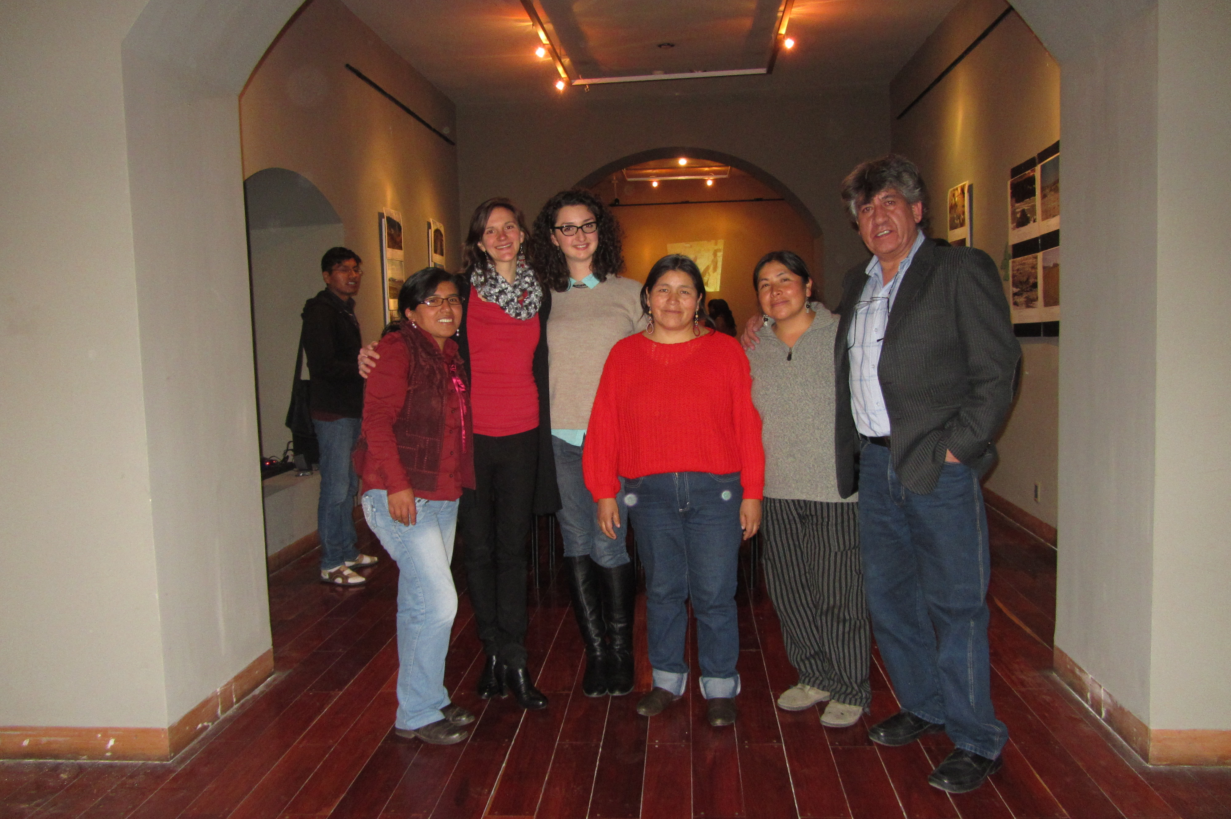 Past UMAVIDA colleagues, members of my long-term community. Ely Lopez is second from the right. (La Paz, Bolivia)