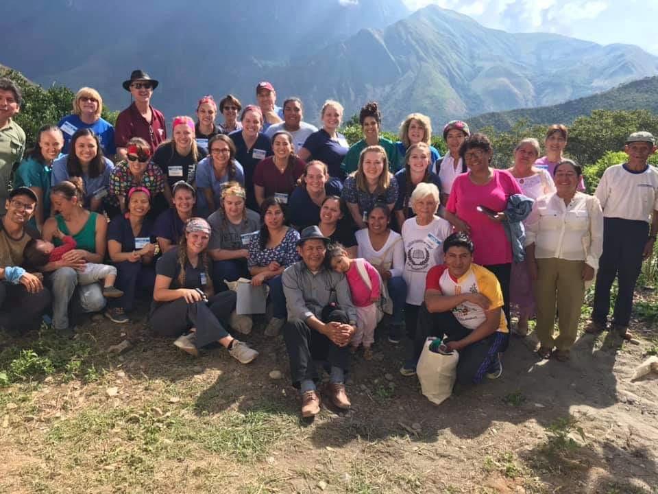 The 2019 First Presbyterian Church Bryan medical team. San Martín, Peru