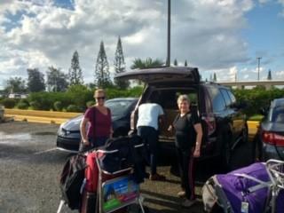 Arriving to the Santo Domingo, Dominican Republic. (Feb 2020)