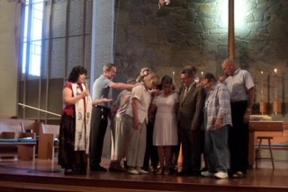 Our send off at Claremont Presbyterian Church, Claremont California (2015)