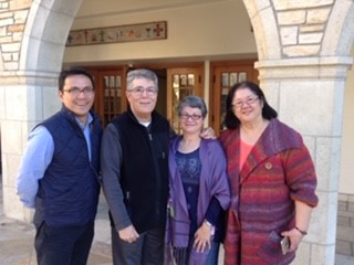 Visit to our home Presbytery of San Gabriel in Southern California with Executive Presbyter Rev. Wendy Tajima and Rev. Bong Bringas