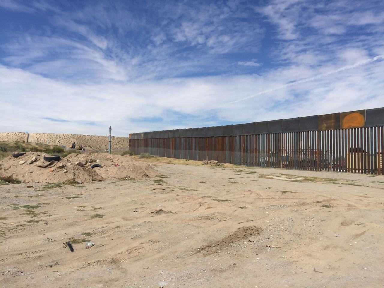 Picture of the wall construction