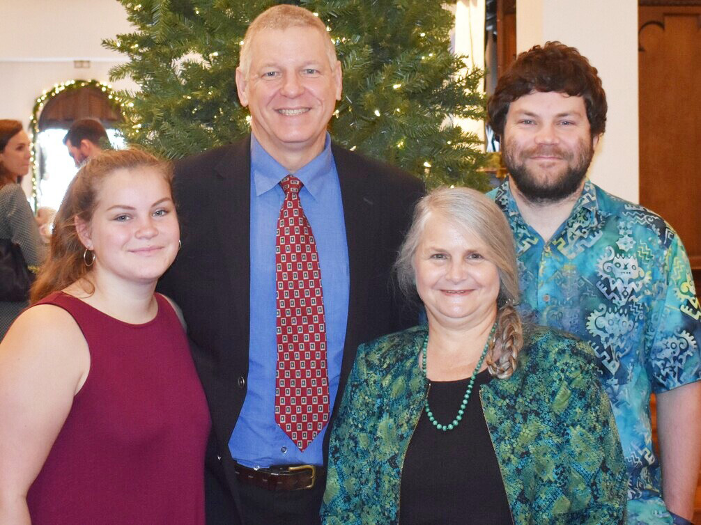 Turk family, Christmas 2019.