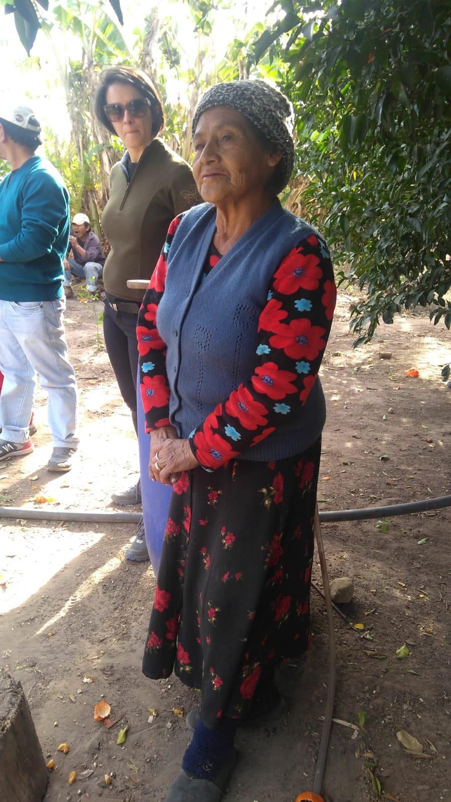 Doña Lindaura remembers.