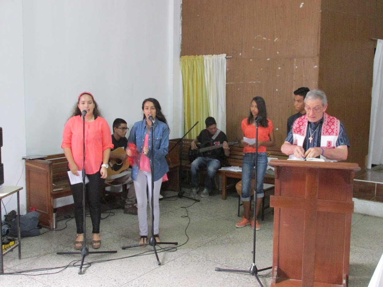 I preached at Divino Salvador the last time I was in Venezuela.