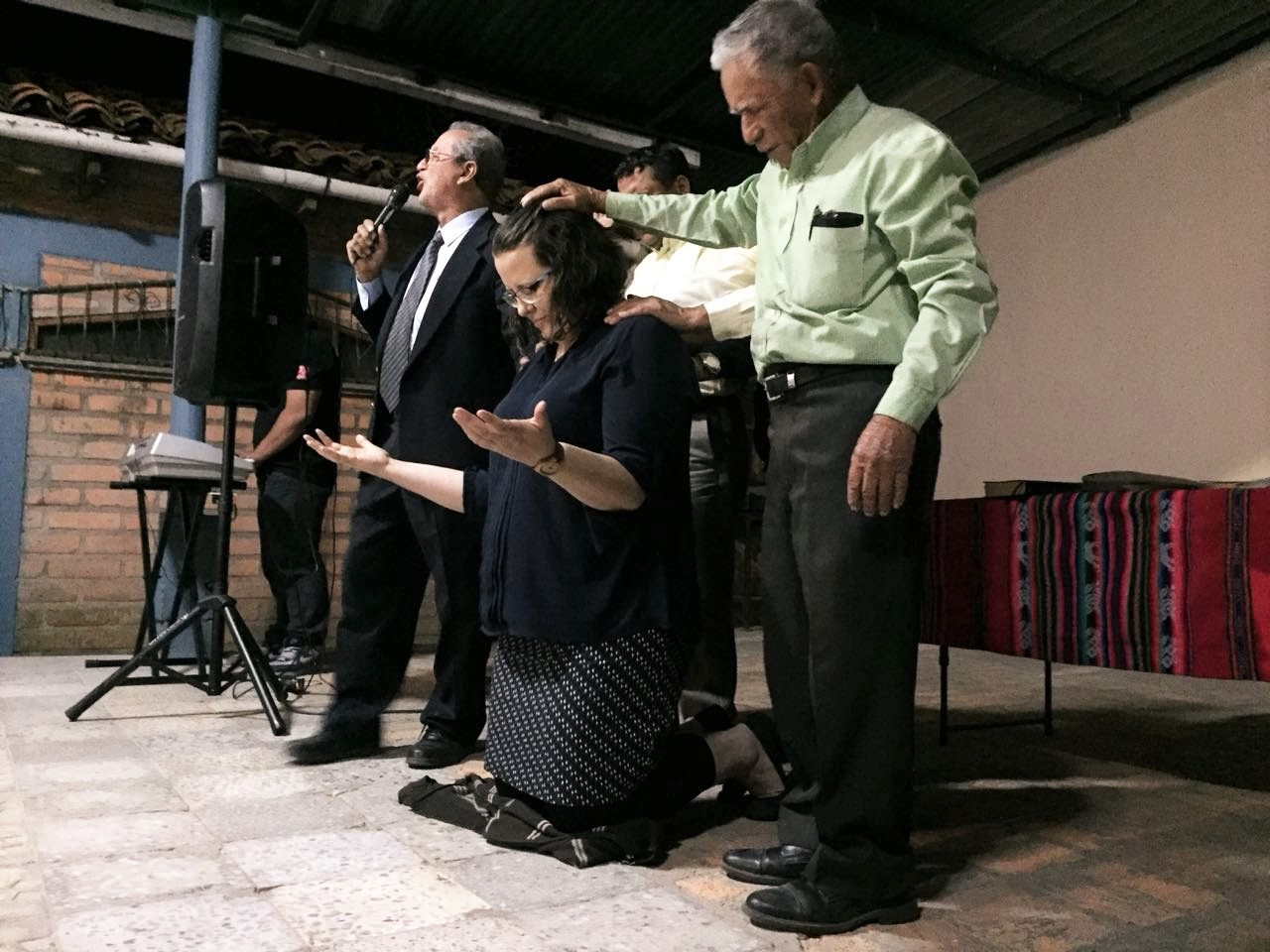 I was installed as mission co-worker at Villa Gracia on March 2.