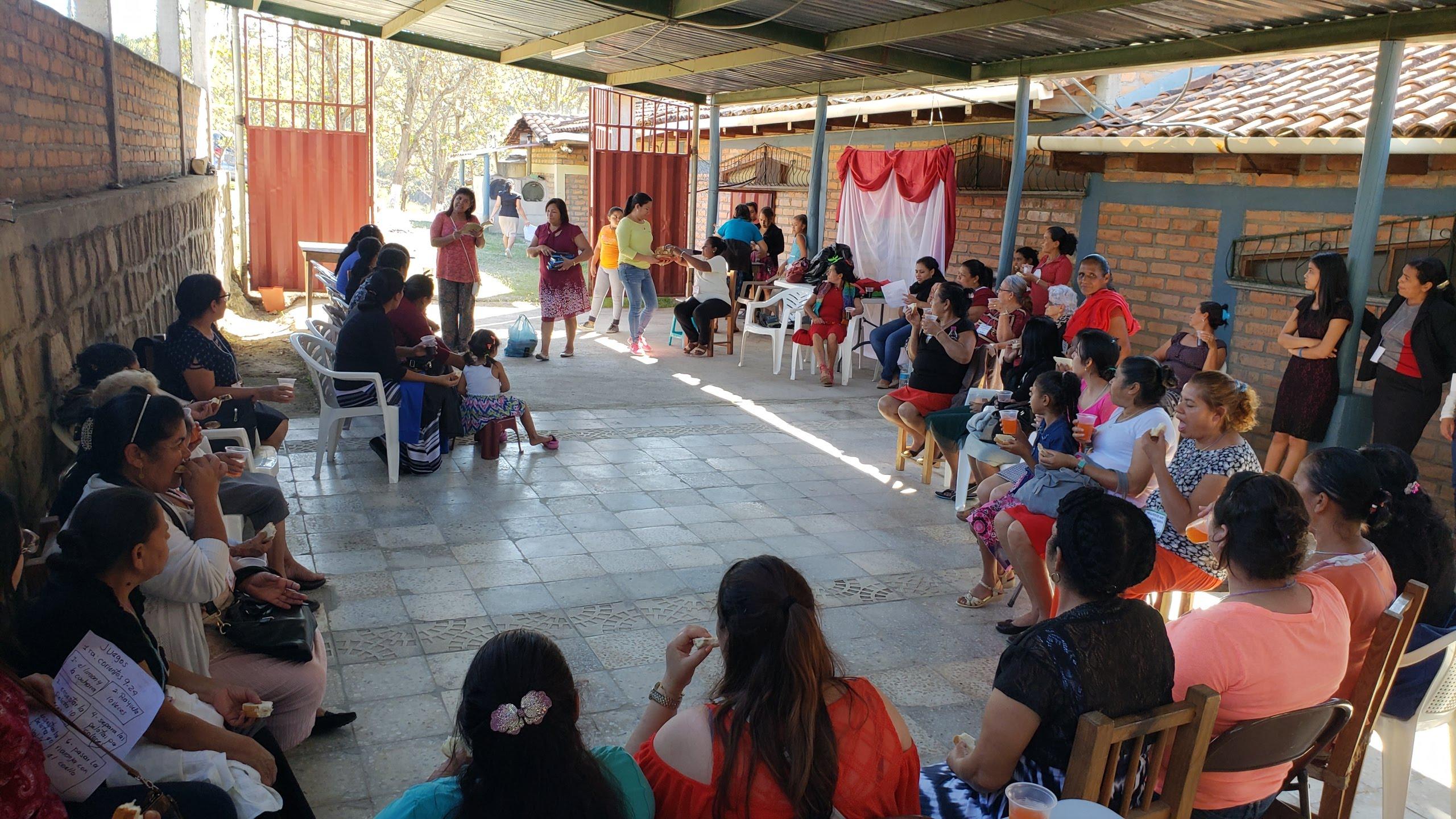 An annual women's retreat is a principal activity at Centro de Retiros Villa de Gracia, operated by the Presbyterian Women of Honduras.