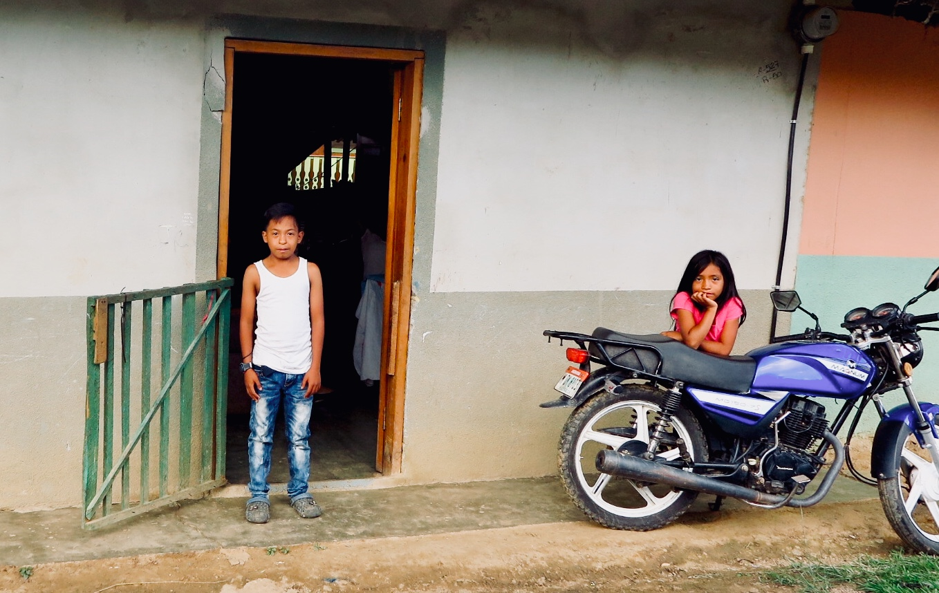 Eduar López with his little sister Génesis outside their family's home in Guaimaca, Honduras. Eduar's father, Fidel, is pastor of two Presbyterian congregations. Eduar's cardiac surgery to correct a congenital defect was completed October 4, 2018, with help from a pastoral emergency fund supported by congregations in the Evangelical Presbyterian Mission of Honduras as well as the PC(USA).