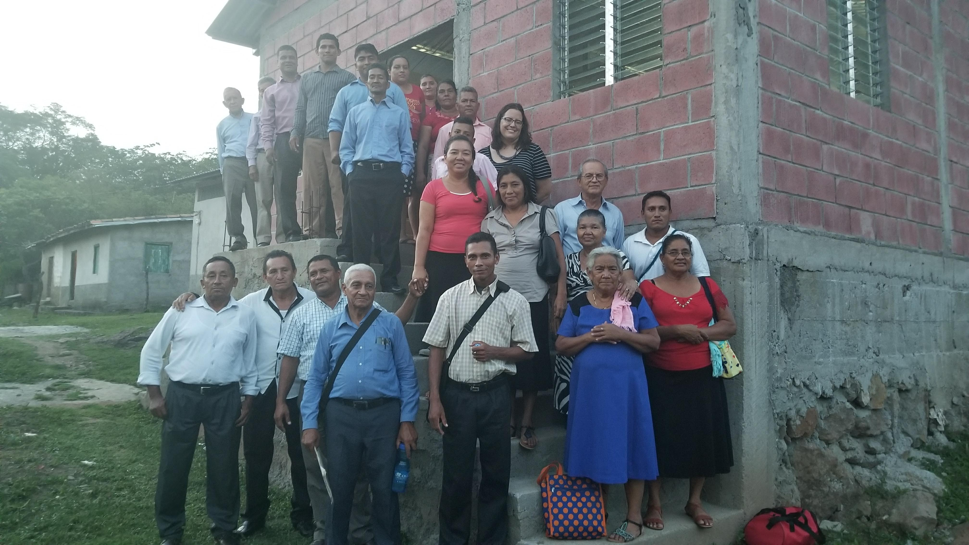 Deacons, elders, pastors, and other church leaders in the Moropocay region in a presbytery training session.