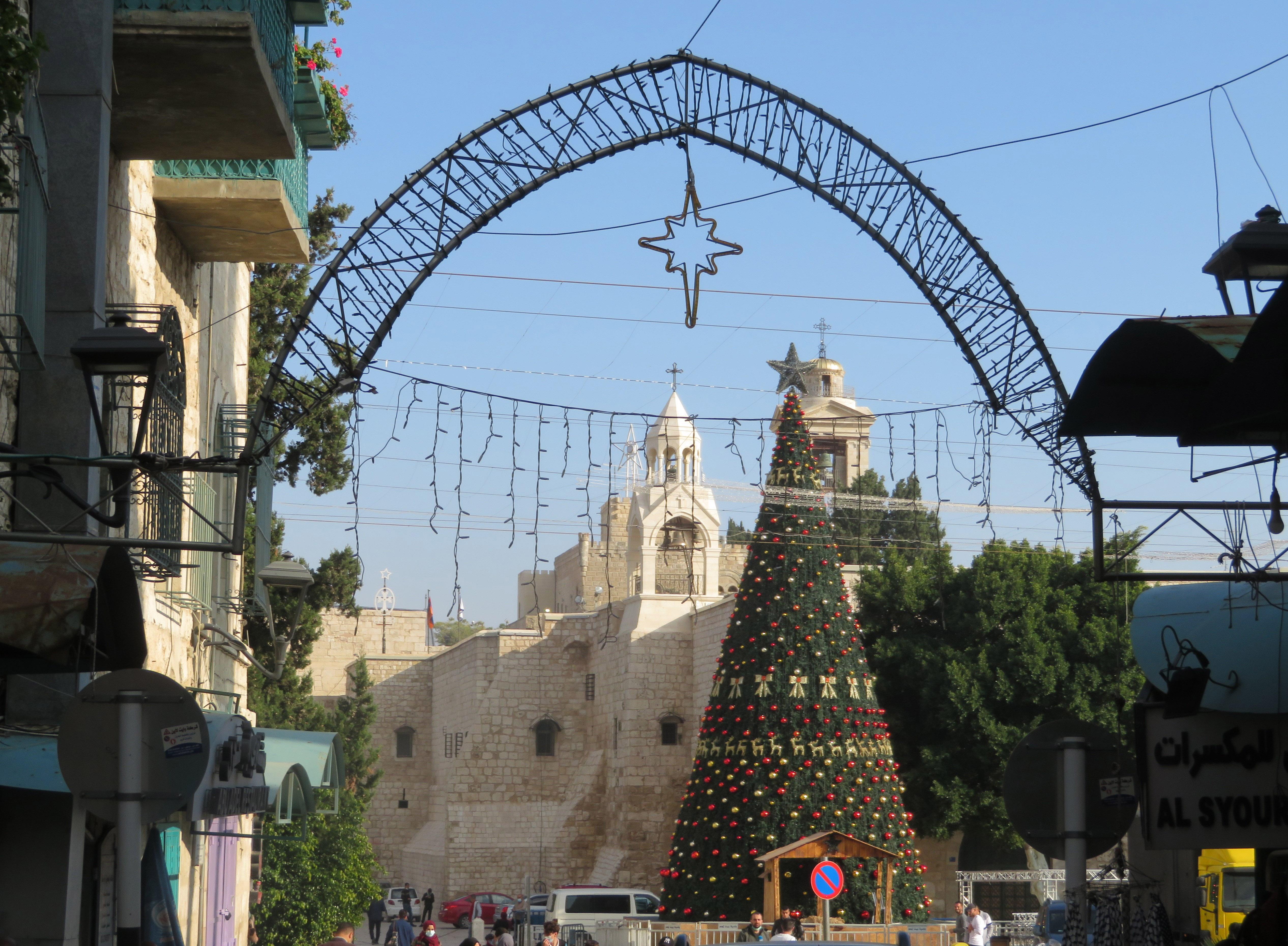 In spite of COVID-19, Bethlehem readies for Christmas.
