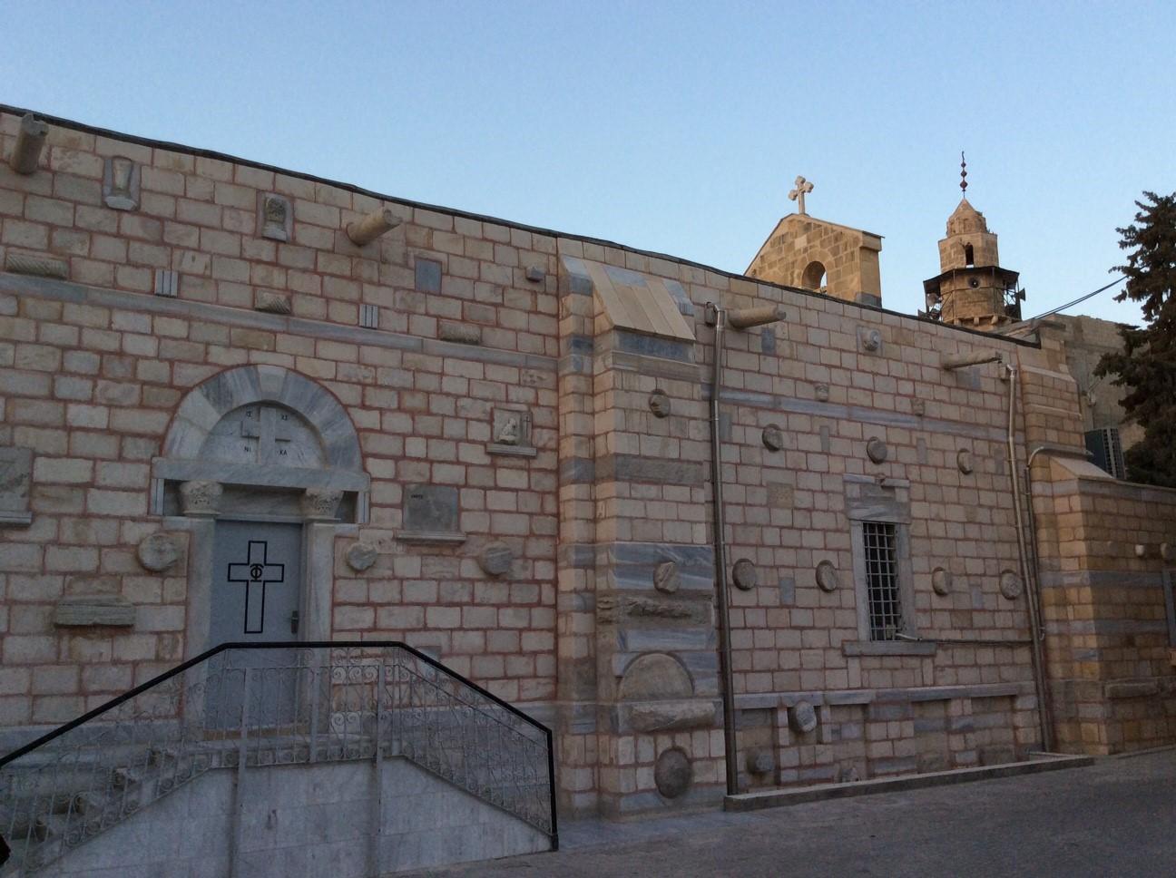 St. Porphyrius Orthodox Church in Gaza City.