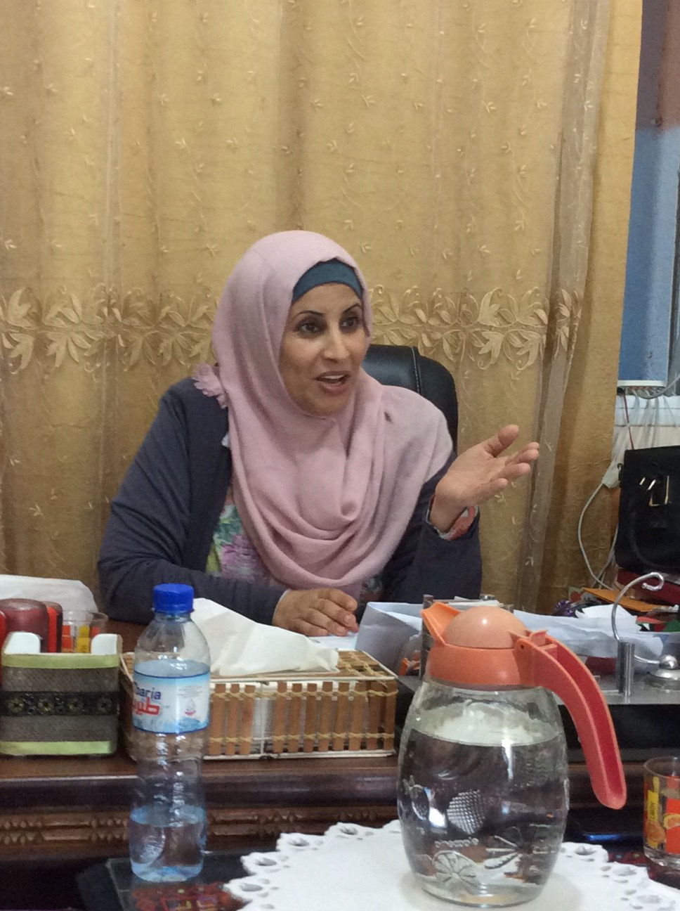 """What shall I tell you about our lives and about the situation in Gaza?"" – Samah Ghayad"