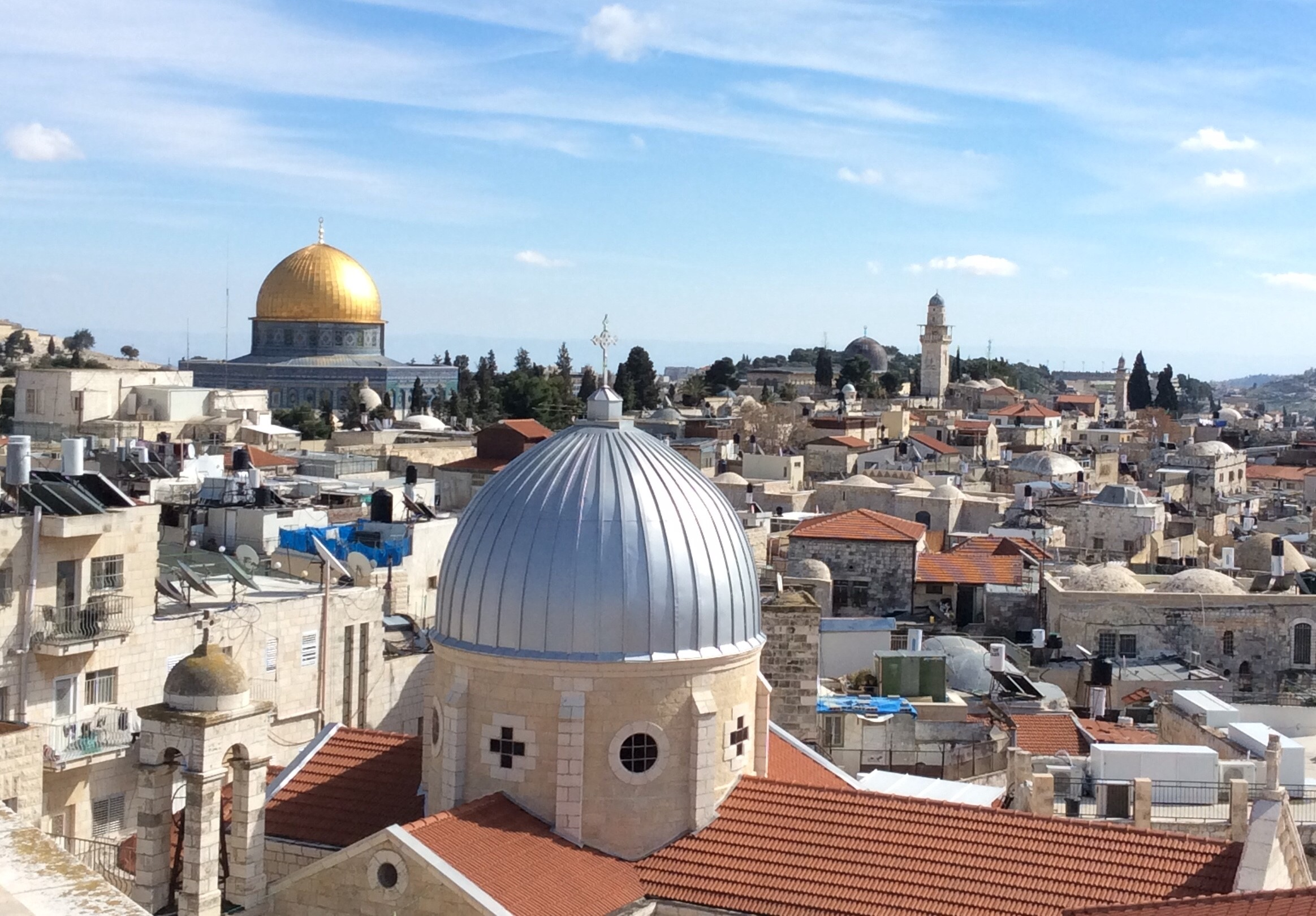 """Jerusalem. Israel's controversial Nation-State Law calls Jerusalem the """"unified and complete capital of the Jewish people."""" But what of Jerusalem's Palestinian Arab Muslim and Christian inhabitants?"""
