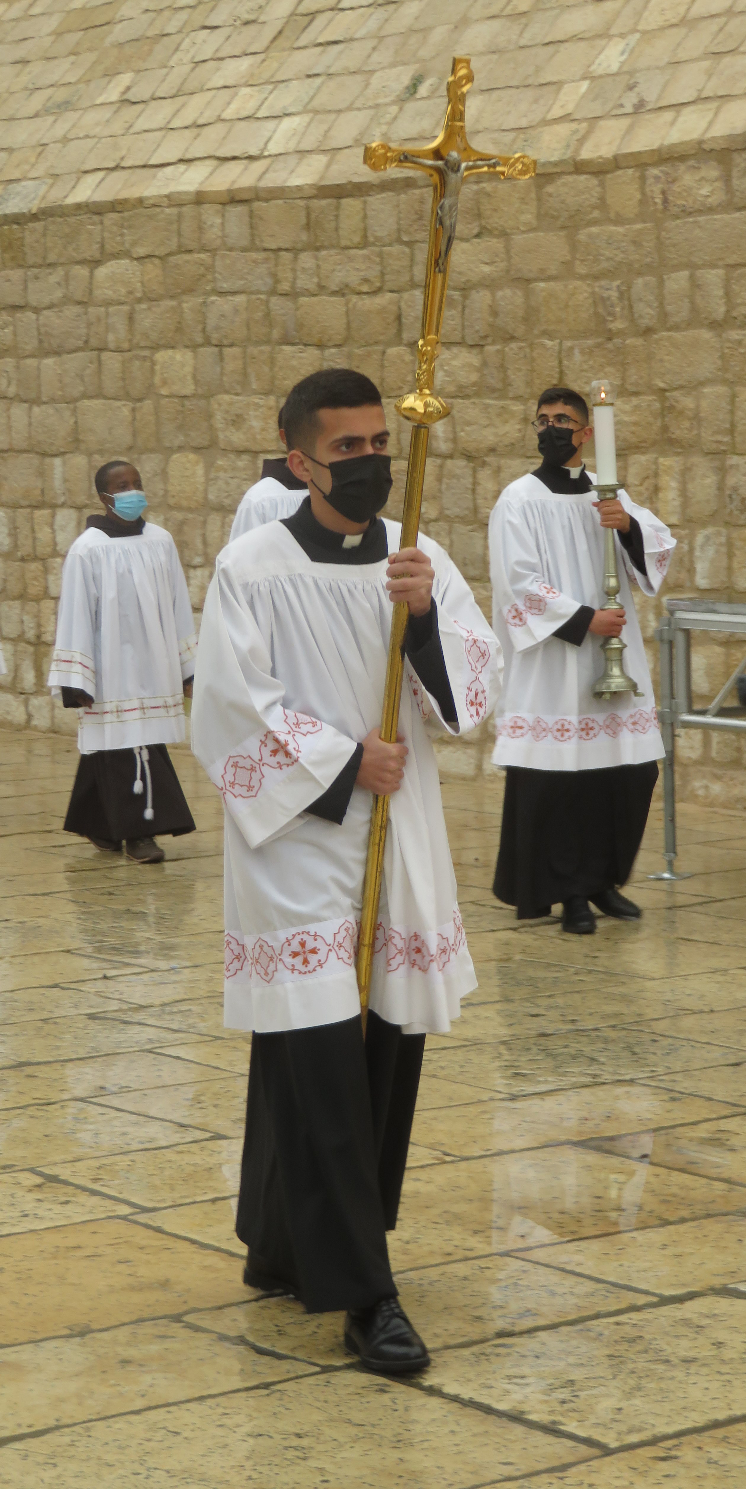 The Franciscan Procession on Christmas Eve in Bethlehem