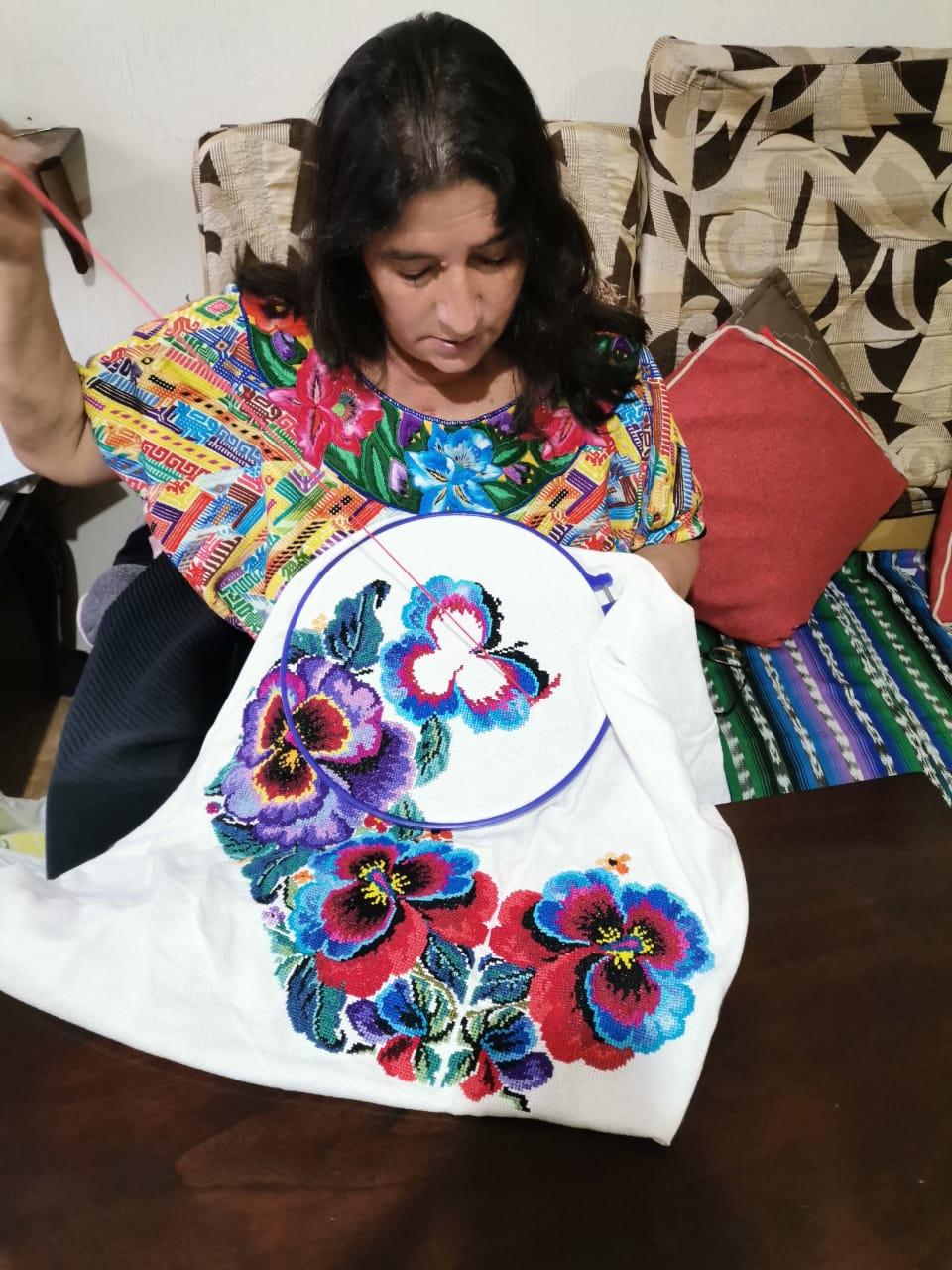Maria Roselia Gomez sharing her beautiful work!