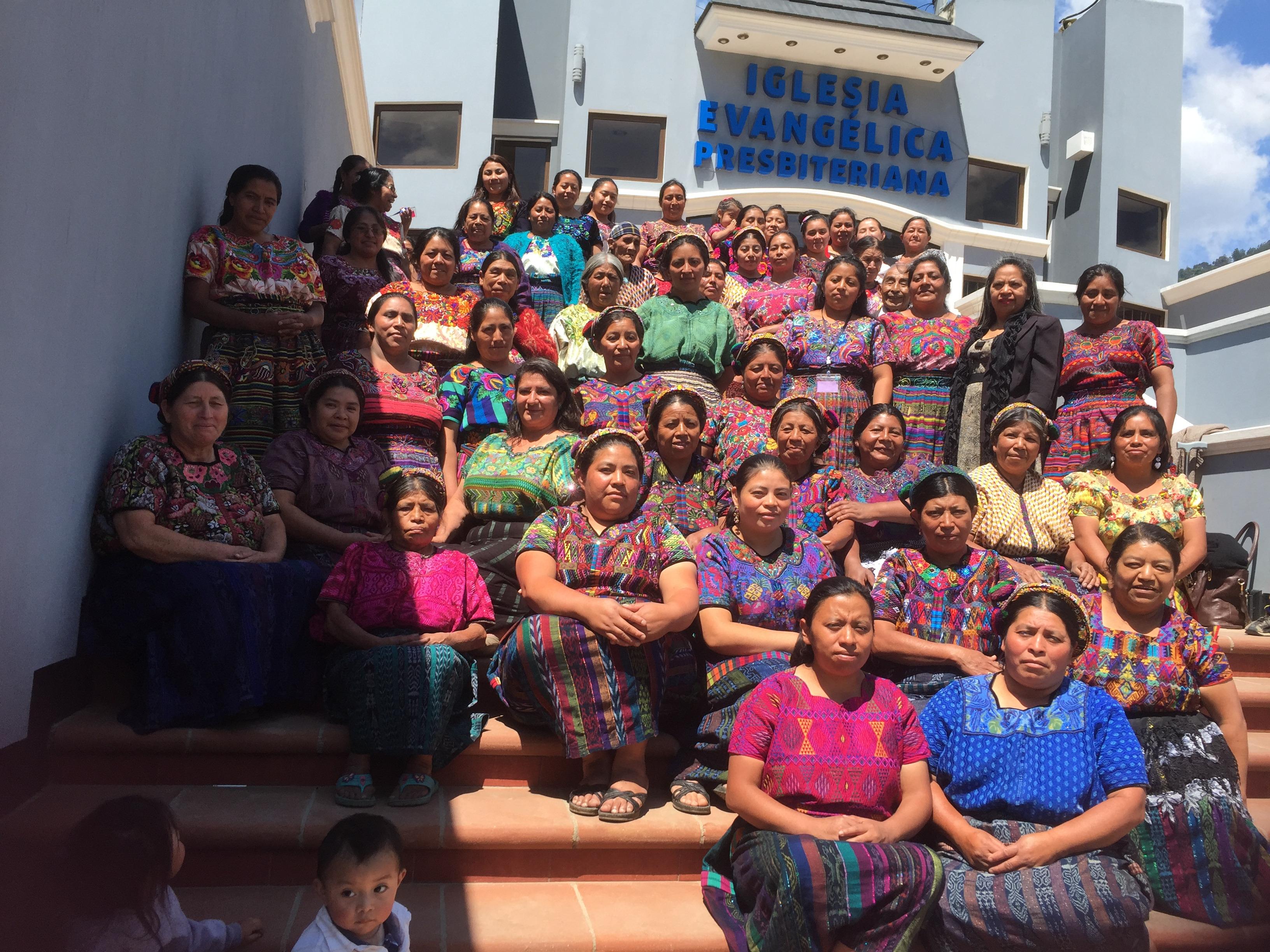 Maya Quiché Convention at Evangelical Presbyterian Church Monte De Los Olivos in Almolonga, Quetzaltenango.