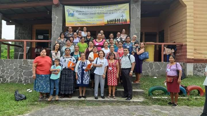 Unión Sinódica Presbiteriana of the First Reformed Synod's convention in Amatitlán.