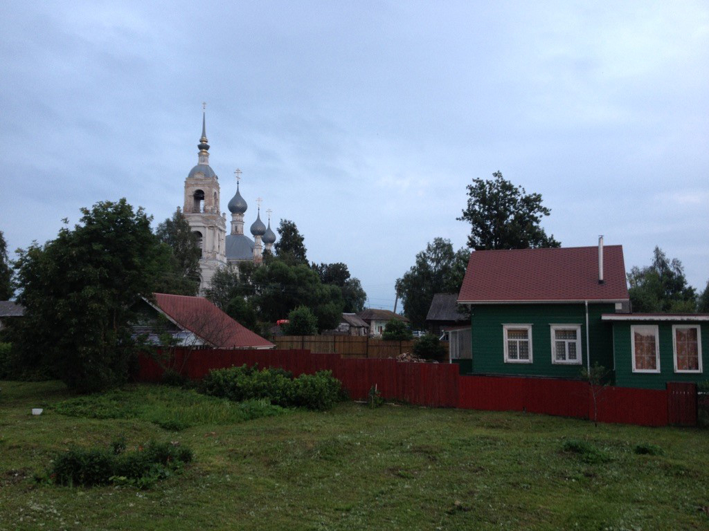 The Orthodox Church of Davydovo where Preobrazheniye (Transfiguration), Center for Social Assistance to the Disabled, Family, and Children is situated.