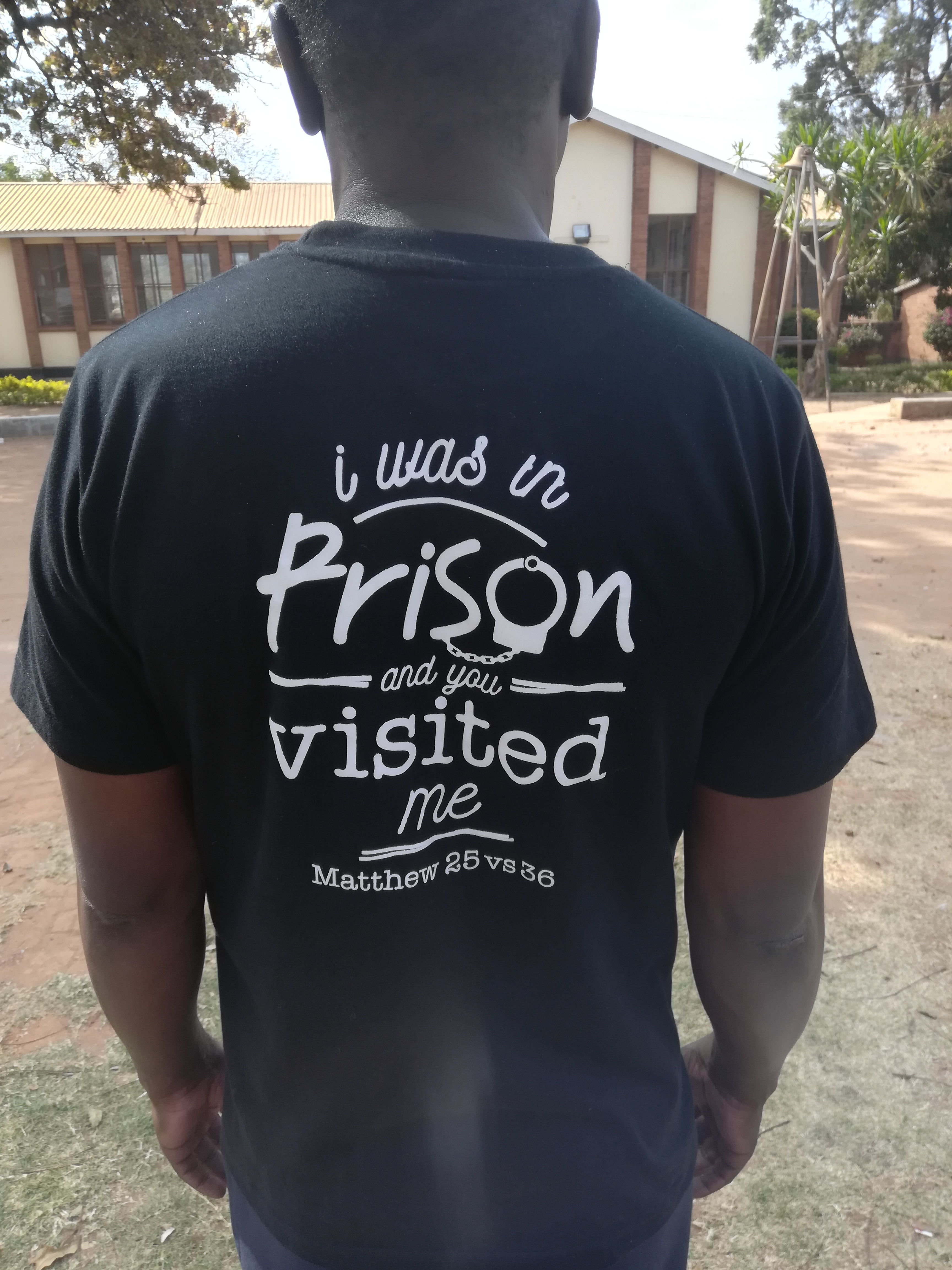 CCAP Nkhoma Synod Prison Ministry theme verse.